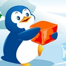 הפינגווין והקוביות הוא משחק בו אתם צריכים בכלב שלב לזרוק קוביות לכיוון היריב ככה שיהיו 3 קוביות זהות ברצף וככה תנצחו.