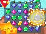 התאמת יהלומים פיראטים- משחק חדש
