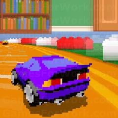 מירוץ מכוניות רטרו