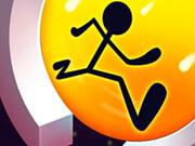 משחק ריצה בתוך עיגול , קפצו עברו את המכשולים והשלימו 100 אחוז מהשלבים