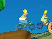 הסימפסונס באופניים