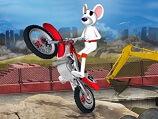 סעו עם העכבר על האופנוע , עברו מכשולים שלבים ומשימות , משחק ממש חמוד