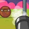 אתם צריכים לירות על הממתקים ולהרוס את המגדל שלהם ולהפיל אותו, קצת דומה לאנגרי בירדס מזווית אחרת