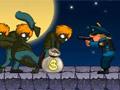 משחק מגניב של חיסול זומבים , חסלו את הזומבים לפני שהם מגיעים למקדש , שימו מלכודות באדמה , תירו בהם תרוויחו כסף ותשפרו את הכלי נשק שלכם הגנה ועוד