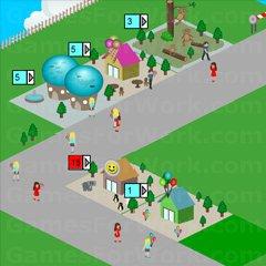 משחק בניית גן חיות ומתקנים מגניב עם שלבים ומשימות  , כל שלב תקבלו משימות ותאלצו לסיים אותן כדי להתחיל את השלב הבא , המשימות בצד שמאל למעלה , אפשר להגביר את המהירות של השלב