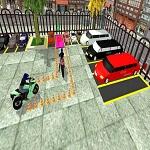 חניה עם אופנוע