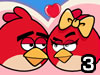 משחק תותח אנגרי בירדס , בואו לשחק במשחק אגרי בירדס לכבוד יום האהבה ולירות את הציפור על החברה שלו