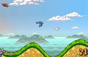 דילו הארמדיל החמוד רוצה ללמוד לעוף , משחק בסגנון טייני ווינגס , כנפיים קטנות , שהיצור מנסה לעוף במורד הגבעות , אז בואו לעוף עם הארמדיל דילו או עם יצור אחר שתבחרו בלי כנפיים  , ואז אתם צריכים ללחוץ בעכבר כדי להתגלש עם גבעות רק שיש ירידה