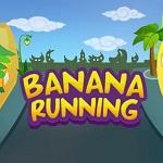 עזרו לבננה להגיע כמה שיותר רחוק במסלול המכשולים, נסו להשיג בדרך כמה שיותר כדורים צהובים.