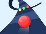 משחק עם כדורים בצבעים שונים כאשר כל כדור יכול לעבור רק דרך הצבע שלו , כמה רחוק תגיעו במסלול ?