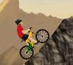 שחקו עם אופני ההרים ועברו שלבים עם האופניים בהרים , שמרו על שיווי משקל