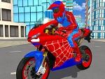 משחק אופנוע איש עכביש