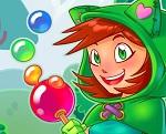משחק באבלס בועות קסם , משחק מגניב עם באבלס עם בת קוסמת שתעזור לכם להוריד את הבועות ולעבור שלבים