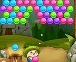 בואו לשחק בתור פטריה חמודה שזורקת בועות באבלס, כמו כל המשחקים עשו רצף של 3 או יותר בועות באותו הצבע כדי להוריד אותם ולעבור שלבים