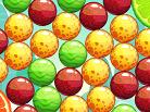 משחק התאמת בועות באבלס עם הרפתקאות ושלבים , התאימו את הבועות הדומות על ידי מתיחה של קו בין כל הבועות הצמודות ועברו שלבים