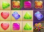 טירוף הממתקים חוזר! צרו שלשות או יותר מאותו צבע וצורה.