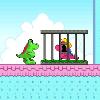 דינו מגיע לארץ הממתקים בפעם השלישית והפעם להציל את הדינוזאורית החמודה