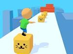גולש על קוביות - משחק חדש