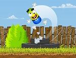 משחק קפיצה על צמיגים עם יצור חמוד , נסו לנחות ישר ולא לעוף מהצמיגים ועל הדרך לעשות פעלולים באוויר