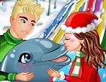 משחק מופע הדולפינים חג המולד