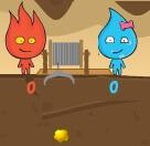 בן אש ובת מים אוצרות- משחק חדש