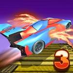 מכונית פעלולים מעופפת 3 - משחק חדש