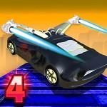 מכונית פעלולים מעופפת 4- משחק חדש