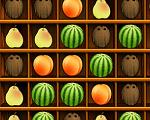 משחק התאמת פירות , שלשות של פירות או יותר , עובד גם בסלולרי אם תכנסו ליויו מהסלולרי