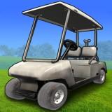 בואו להגיע עם עגלת הגולף לחניה , למטרה באות P