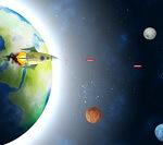 שחקו בתור חללית שתפקידה להגן על כדור הארץ מאסטרואידים , חסלו את כל מה שמגיע ושפרו את החללית