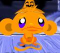 קוף עצוב שמח האלווין