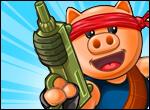 בואו לעזור לחזיר המבו לעבור שלבים במשחק יריות סגנון אנגרי בירדס עם חצים פצצות tnt ועוד