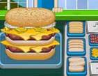 הכנת המבורגר