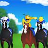 משחק מירוץ סוסים מגניב , זוזו עם הצדדים , ותגיעו לסוף השלב לפני הסוסים האחרים , בחרו את הסוס שלכם ונצחו במירוצים , יש מספר הצלפות מוגבל תשתמשו בחוכמה