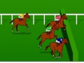 משחק מרוצי סוסים ת, תחליטו מתי לקפוץ ומתי להצליף בסוס למהירות גבוהה יותר ותנסו לנצח במירוץ