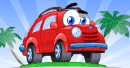 משחק וילי 1המכונית האדומה