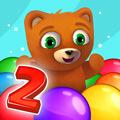 משחק באבלס עם שלבים עם דובי חמוד , משחק באבלס כיף