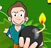 משחק מגניב עם גיימס , שחקו ותשימו פצצות ליצורים , דומה למשחקים באש , לחצו עם jouer להתחיל לשחק