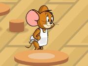 ג'רי (מטום וג'רי) פותח מסעדה המגישה ארוחת ערב , בואו לנהל את מסעדת ארוחת הערב של ג'רי ולהגיש לעכברים את האוכל בזמן