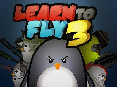 משחק שלישי של ללמד את הפינגווין החמוד לעוף , משחק מגניב עם שיפורים בלתי פוסקים