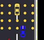 משחק מירוצים עם לחיצה מימין או משמאל לפי המיקום שתרצו שהמכונית תזוז , כמה רחוק תגיעו ?