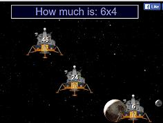 לוח הכפל חלליות