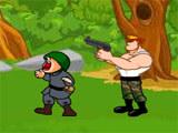 בואו לשחק במשחק פעולה של קפטן אמריקה ולחסל את האויבים
