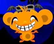 קוף עצוב שמח עטלפים