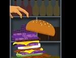 משחק בו עליכם לעשות מגדל המבורגר לגובה,  בנו המבורגרים מ20 שכבות שונות והמשיכו להמבורגר הבא , משחק זריזות כיף