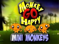 קוף עצוב שמח קופים קטנים