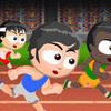 משחק אתגרי מיני ספורט , כל מיני משחקים קטנים של ספורט תחרויות כמו באולימפיאדה , ריצה שחיה משוטים וריצה עם משוכות , בהצלחה