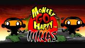קוף עצוב שמח נינג'ות