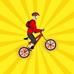 משחק - אופני הרים ל2