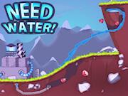 משחק חדש עם הובלת מים , צריך מים - הובילו את המים למכונה על ידי חפירה באדמה
